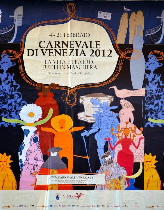 affiche carnaval venise 2012