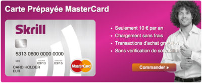 carte bancaire prepaid skrill