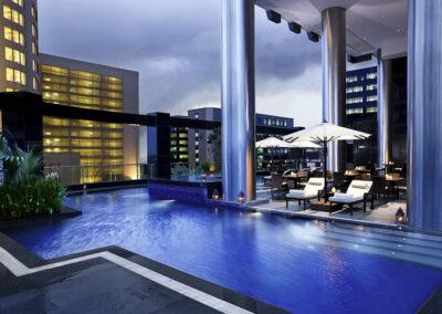 piscine hôtel inde