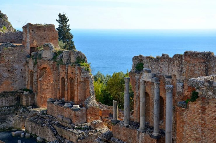 ruines taormina
