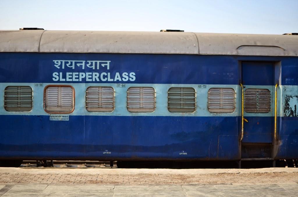 train inde sleeper class