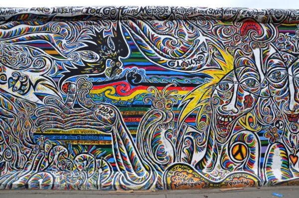 street art east side gallery