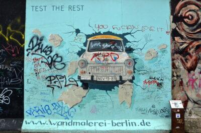 street art mur de berlin