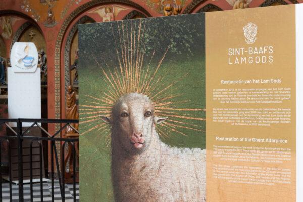 Agneau mystique de Huber van Eyck
