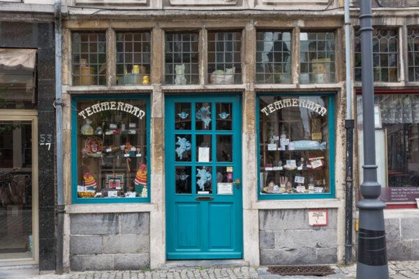 Boutique confiserie à Gand en Belgique
