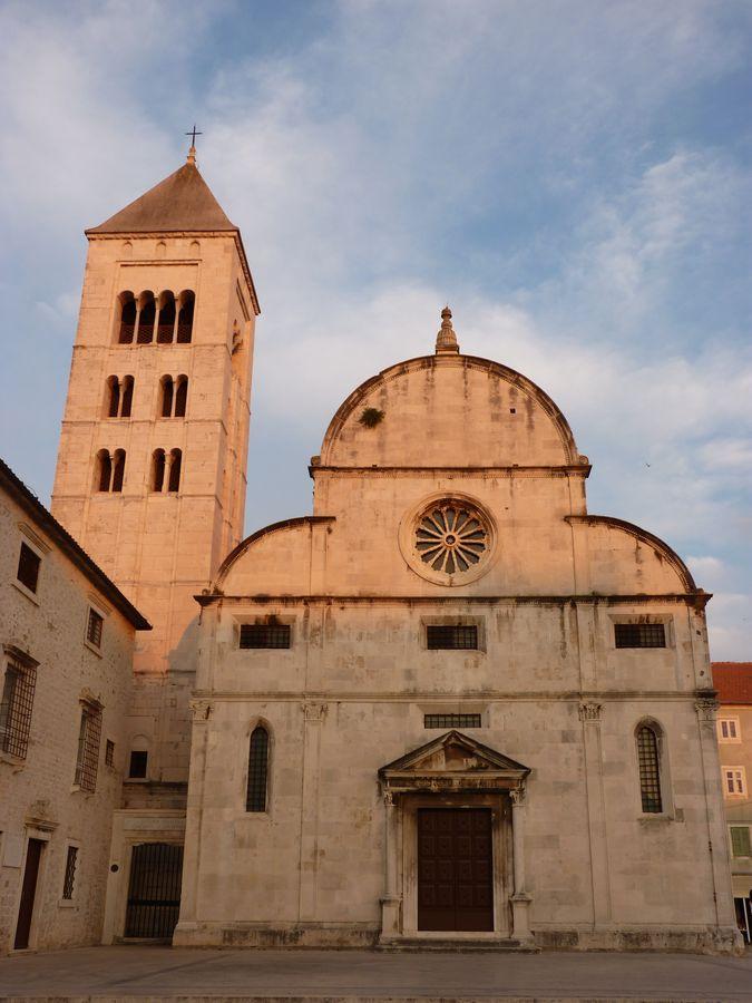 Eglise dans le centre historique de Zadar