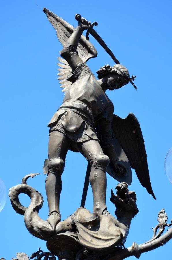 Statue à Gand