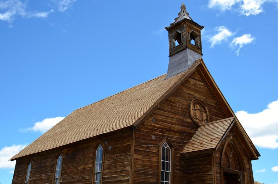 Eglise principale de Bodie
