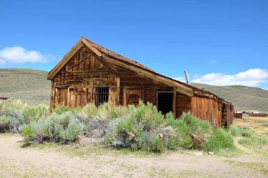 Habitation à Bodie en Californie