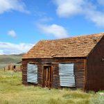 Habitation au sein de la ghost town Bodie