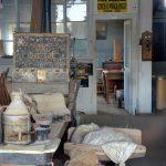 Intérieur d'un magasin de Bodie
