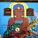 Street art à Chinatown