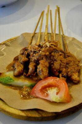 Chicken satay à Kuala Lumpur