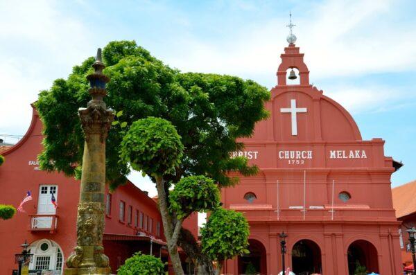 Christ Church à Malacca