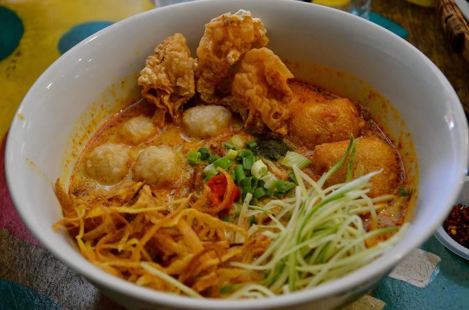 Cuisine Nyonya à Malacca en Malaisie