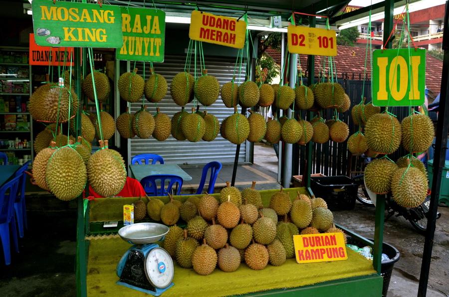 Durian à Kampung Baru