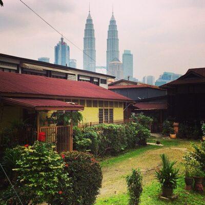 Maison traditionnelle à Kampung Baru