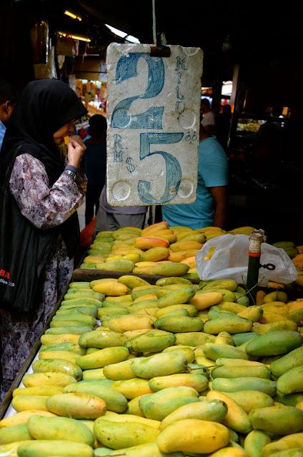 Chow kit market à Kuala Lumpur