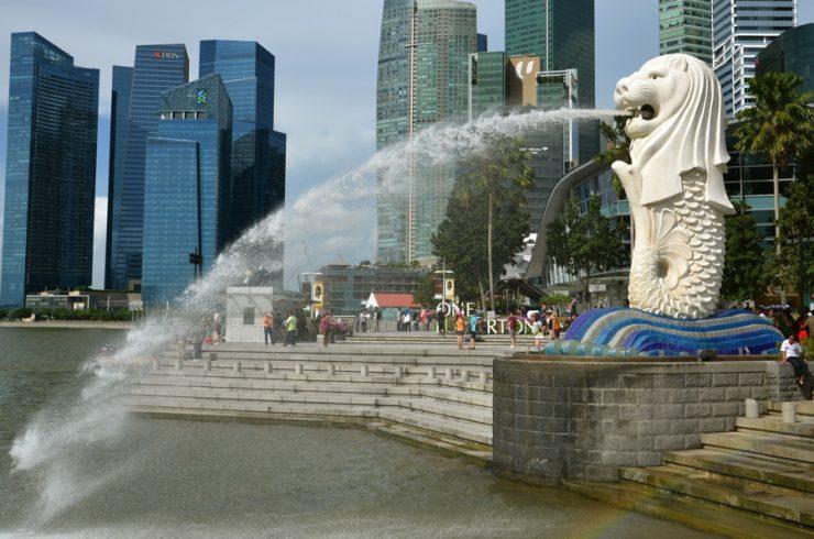 Symbole de Singapour: le Merlion