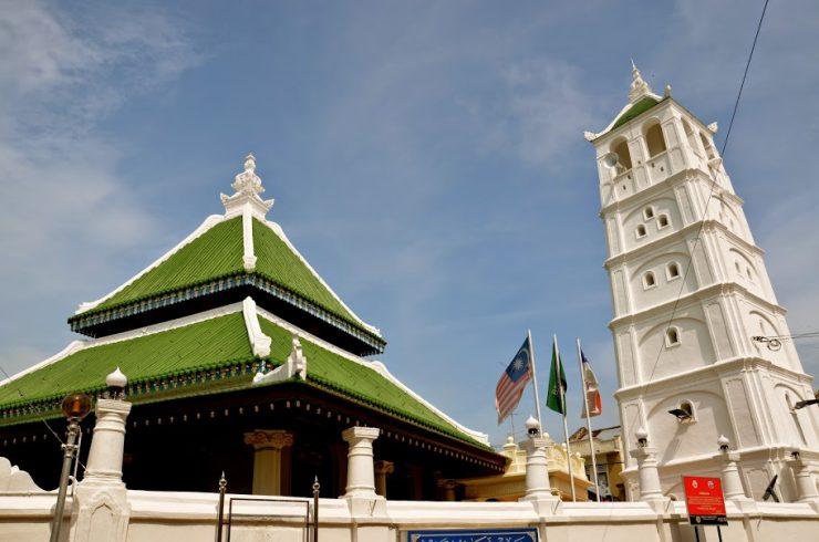 Mosquée à Malacca en Malaisie