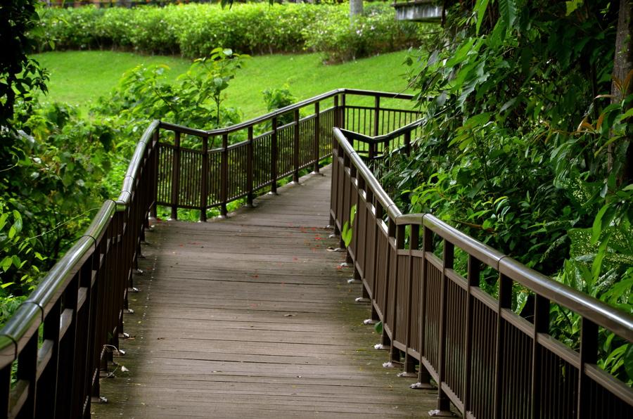 Faber Walk sur le Mount Faber de Singapour