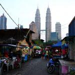 Night market de Kampung Baru