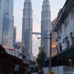 Petronas Twin Towers depuis Kampung Baru