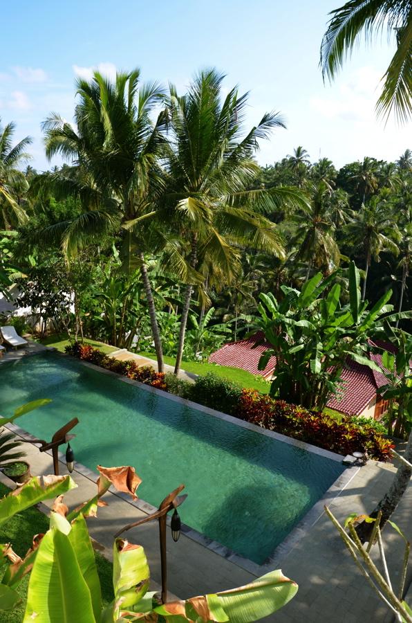 Piscine de mon hôtel à Bali
