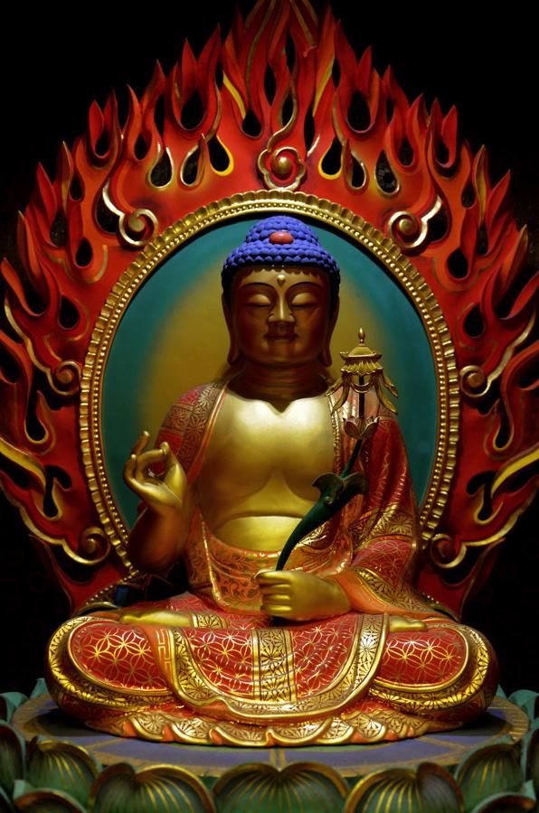 Statue de Buddha à Singapour