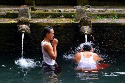 Temple Tirta Empul à Bali