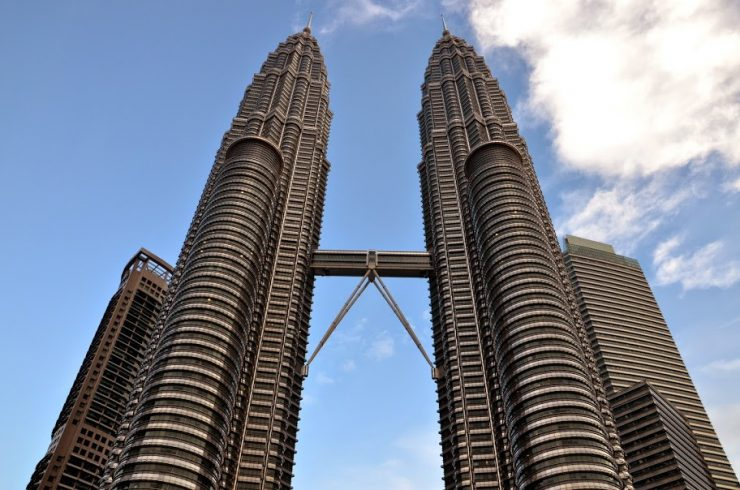 Tours Petronas à KL