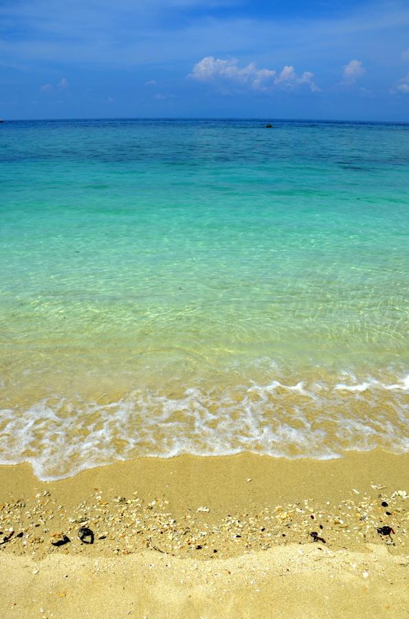 Mer limpide des îles Perhentian