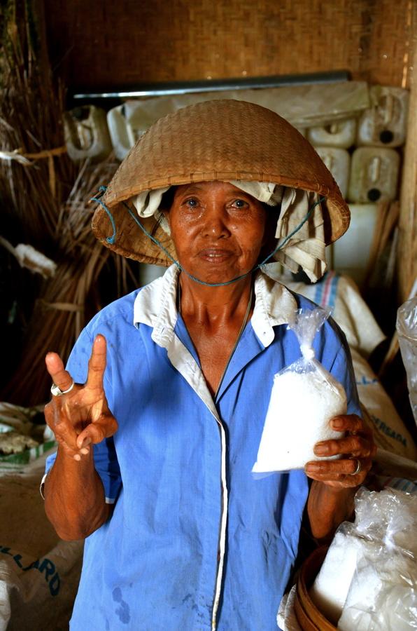 Paludier de Kusamba à Bali