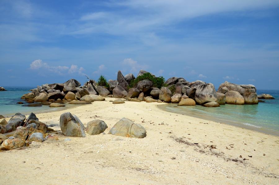 Plage sur les Perhentian Islands