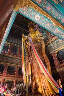 Temple des lamas (yonghegong) à Pékin
