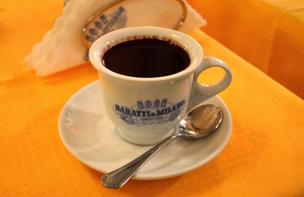 Baratti & Milano, café à Turin