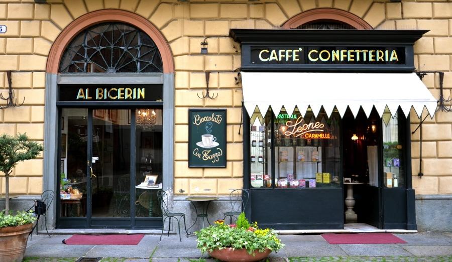 Cafés à Turin