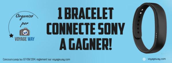 Jeu concours: 1 bracelet connecté Sony à gagner!