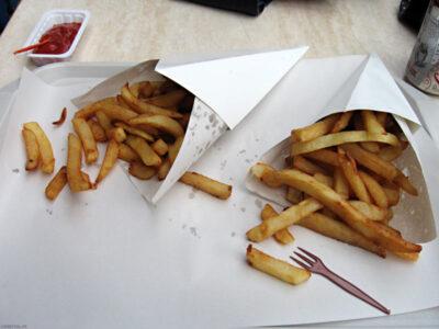 Frites chez Fritland à Bruxelles