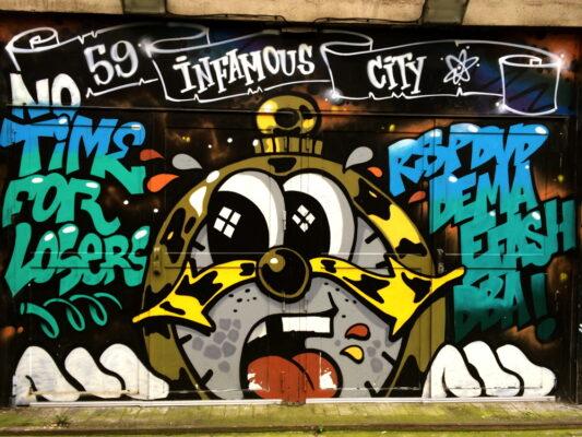 Graffiti à Lille