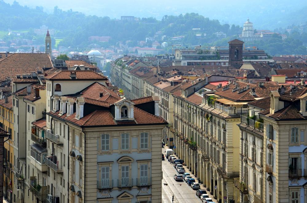 Panorama sur Turin