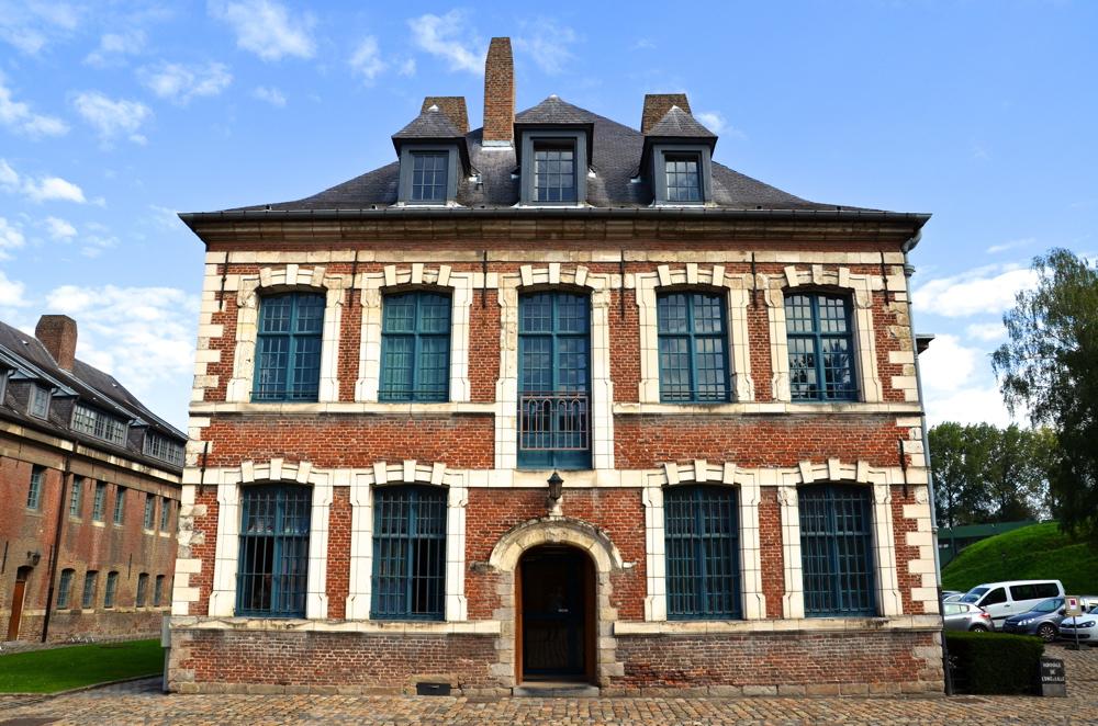 Bâtiment de la citadelle de Lille
