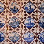Carrelage dans la maison Rubens à Anvers