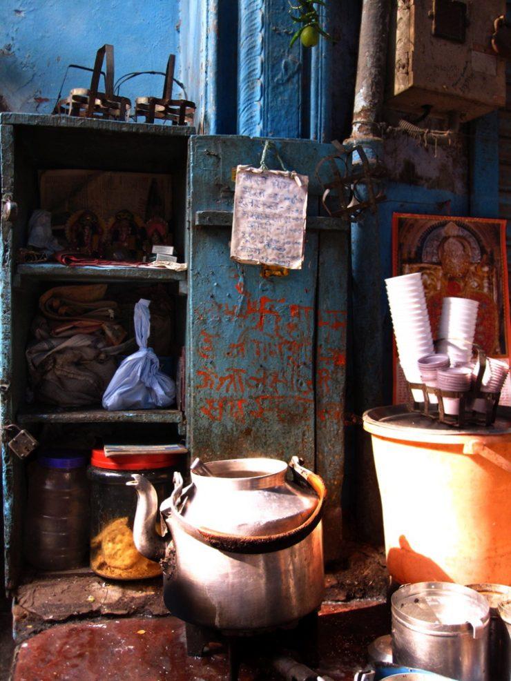 Chaï à Old Delhi