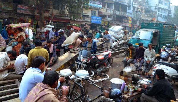 Chaos de Old Delhi