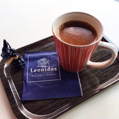 Chocolat chaud à Anvers