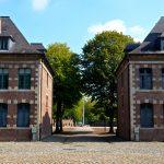 Cour de la citadelle de Lille