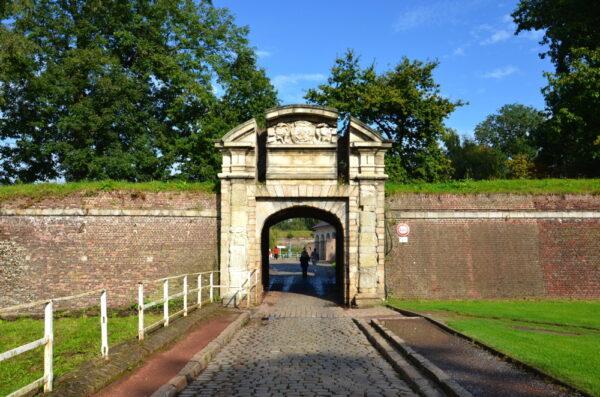 Entrée de la citadelle de Lille