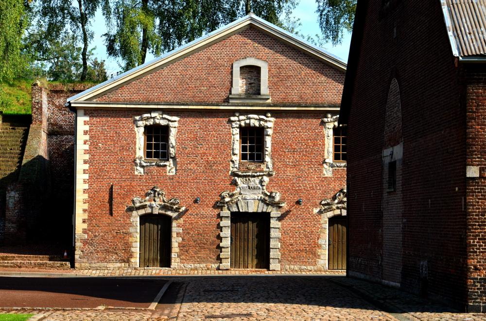 Intérieur de la citadelle de Lille