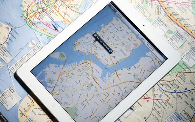 iPad en voyage